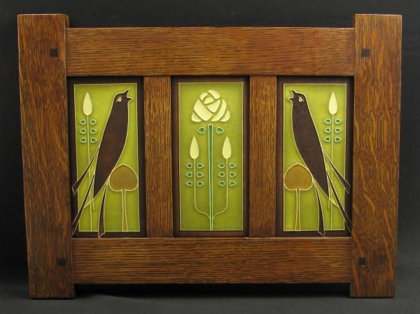 Motawi Tiles In Frame In Clearance Section Arts