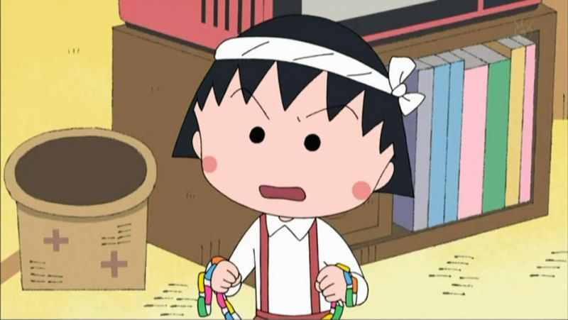 Chibi Maruko Chan -  It's the best anime to learn Japanese language, according to at least one pinner.