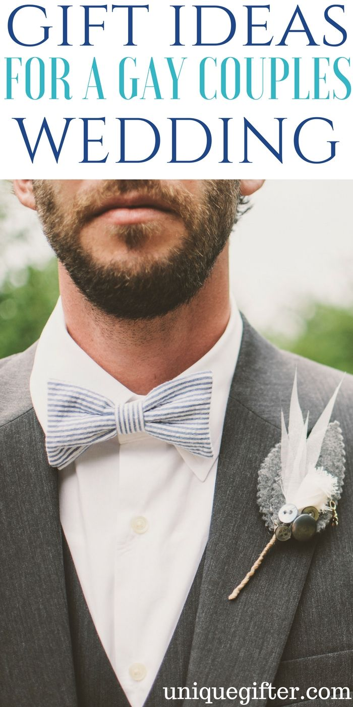 Gifting ideas for gay couple wedding