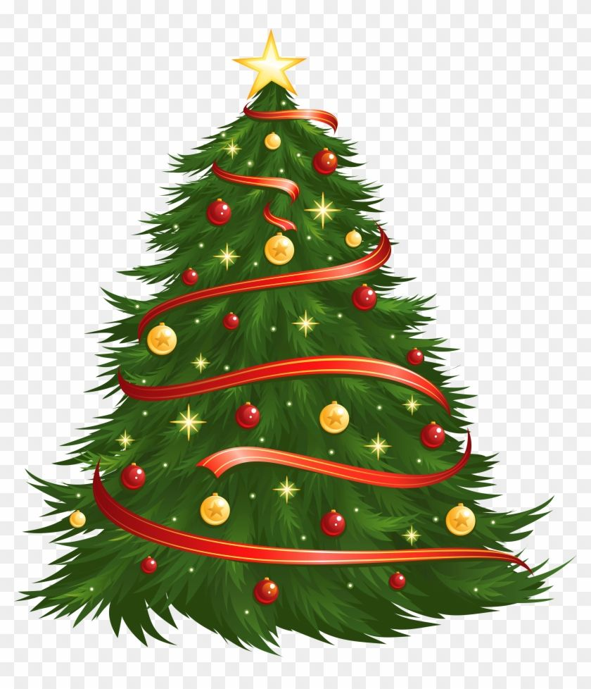 Large Size Transparent Decorated Christmas Tree Png Christmas Tree Vector Png 38295 Christmas Images Free Christmas Tree Clipart Christmas Tree