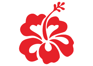 Hibiscus Flower Logo Vector Free Vector Logos Download Flower Logo Flower Branding Trendy Flowers