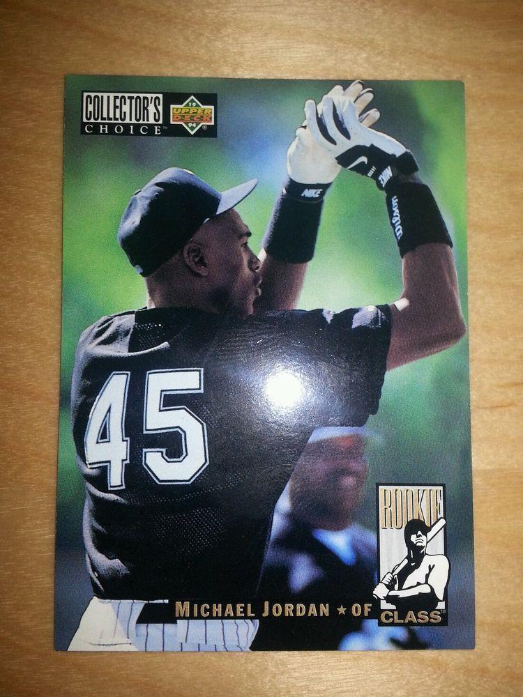 1656 Michael Jordan 1994 Collectors Choice Baseball Rookie