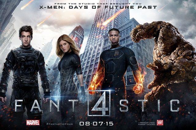 Quarteto Fantastico Posters Individuais Dos Personagens