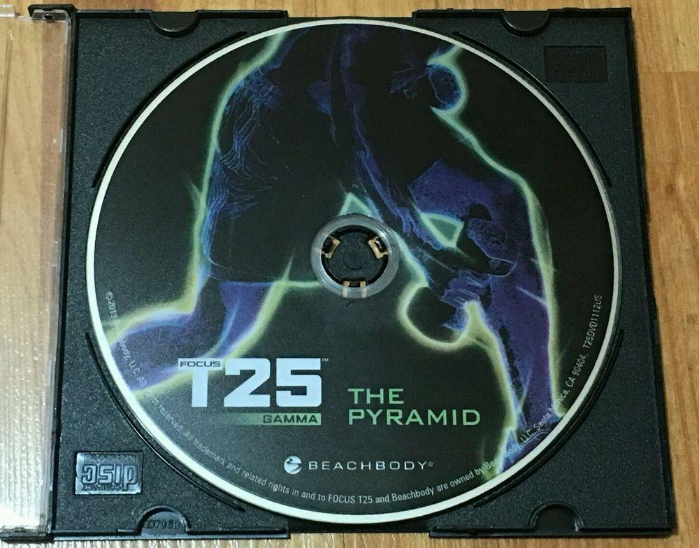 FOCUS T25-GAMMA-Pyramid-DVD-Runtime 25MIN-Lightly Used