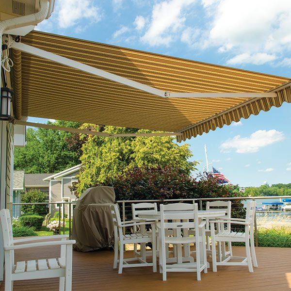 Replace the fabric in your retractable awning with new ...