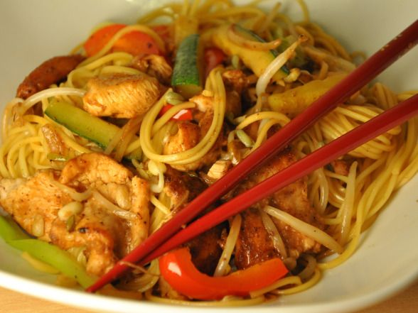 Chinese chicken chow mein recipe slimming world recipes chinese chicken chow mein recipe forumfinder