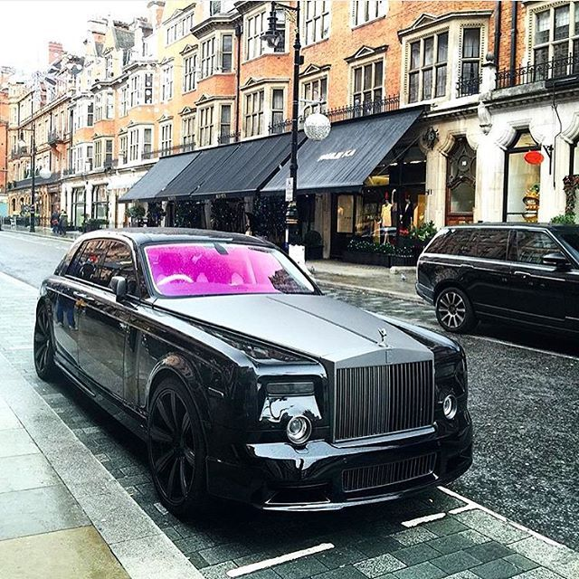 mansory conquistador based on the rolls royce phantom mental car rh pinterest com