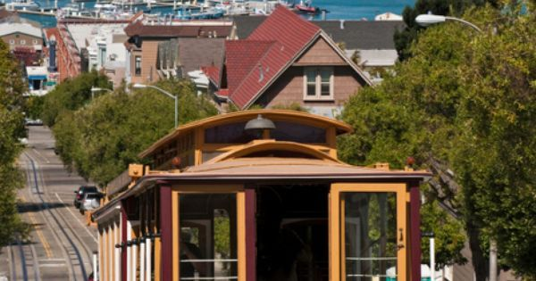 Liked on Pinterest: The Famous San Francisco Cable Cars http://bit.ly/1PJSUIq