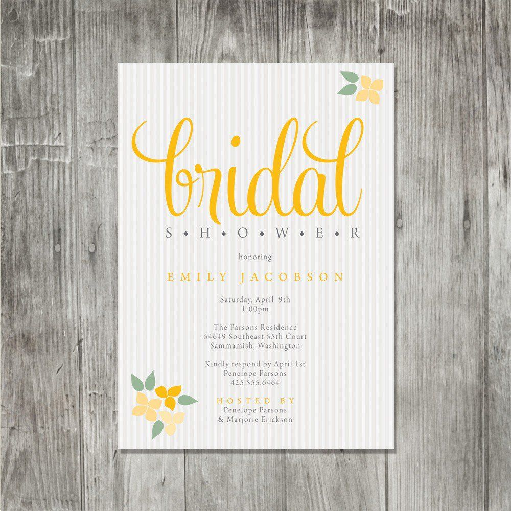 Bridal Shower Invitation Wording For Coworker