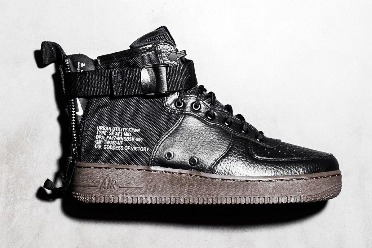 477312af9a Nike SF AF-1 Mid  Black Hazel  Detailed Pictures - EU Kicks  Sneaker  Magazine