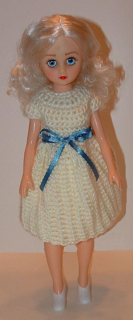14-Inch Fashion Doll Dress | Doll, Amigurumi, DIY Craft food toys ...