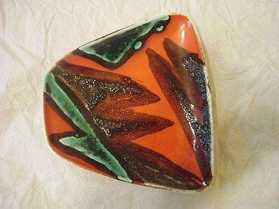 Poole pottery delphis tiny dish shape 41