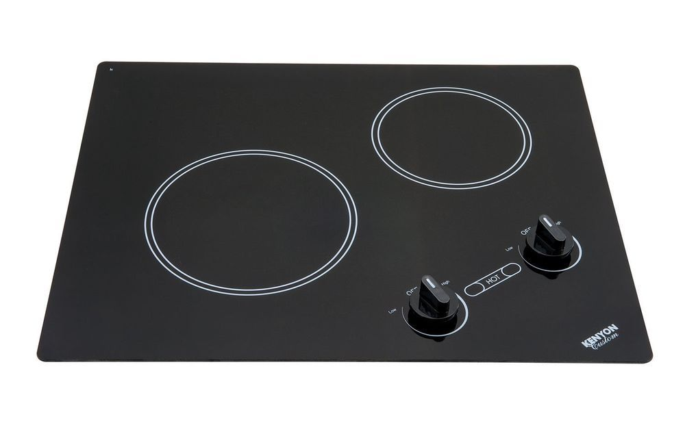 Two Burner Stove Top Cooktop Kenyon B41603 Electric 6 1 2 8 In 120v Black New Cooktop Kenyon Electric Cooktop