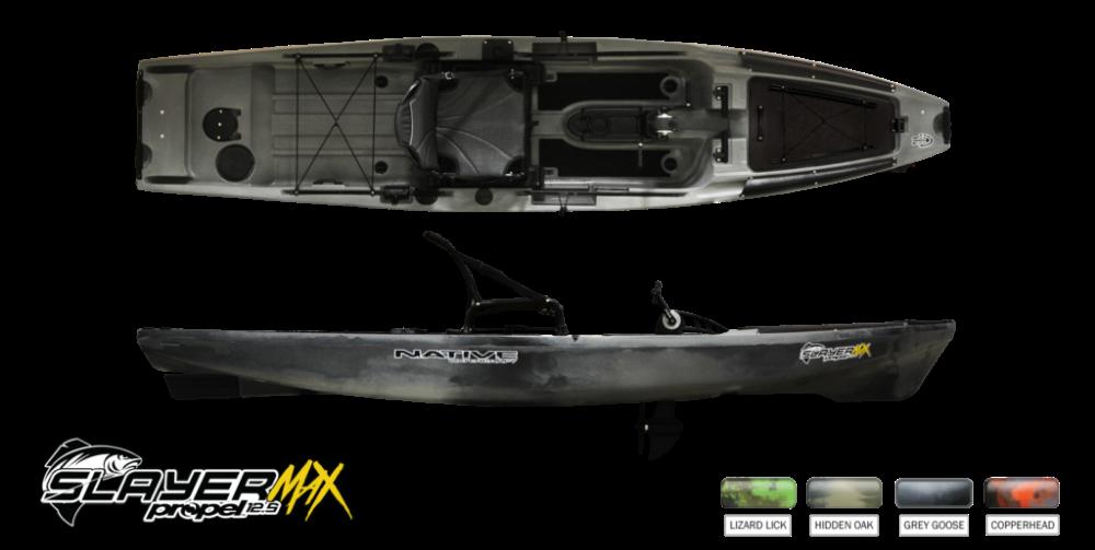 Slayer Propel 12 5 Max With Images Pedal Fishing Kayak Kayak