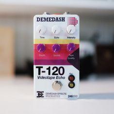 Demedash Effects - T120 Videotape Echo Guitar Pedal #guitarpedals
