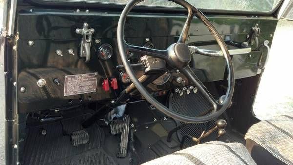 1964 Cj5 Interior Jeeps Jeep Interior Vehicles
