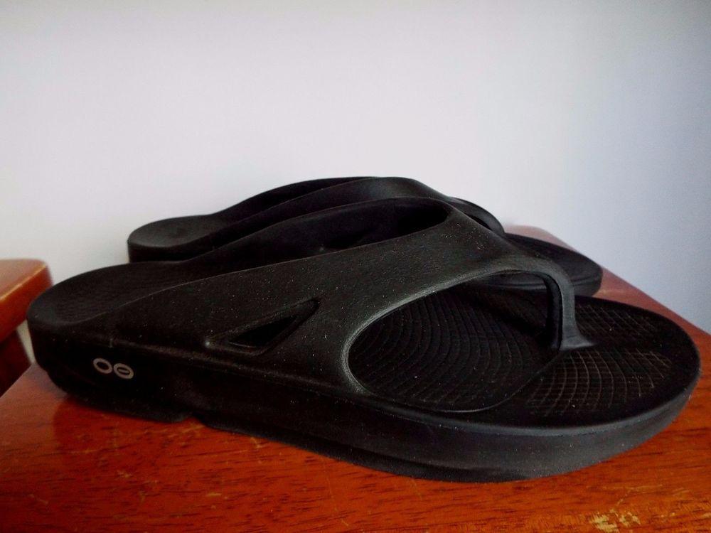 fb2617a1a4b Oofos Ooriginal Thong Flip Flops thong sandal size Men 10 womens 12 ...