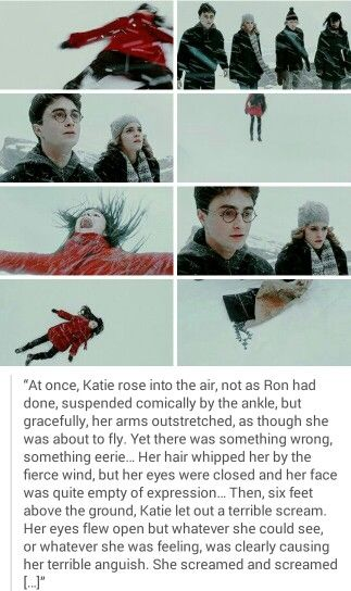 Katie Bell And The Cursed Necklace Katie Bell Harry Potter Katie Bell Harry Potter Characters