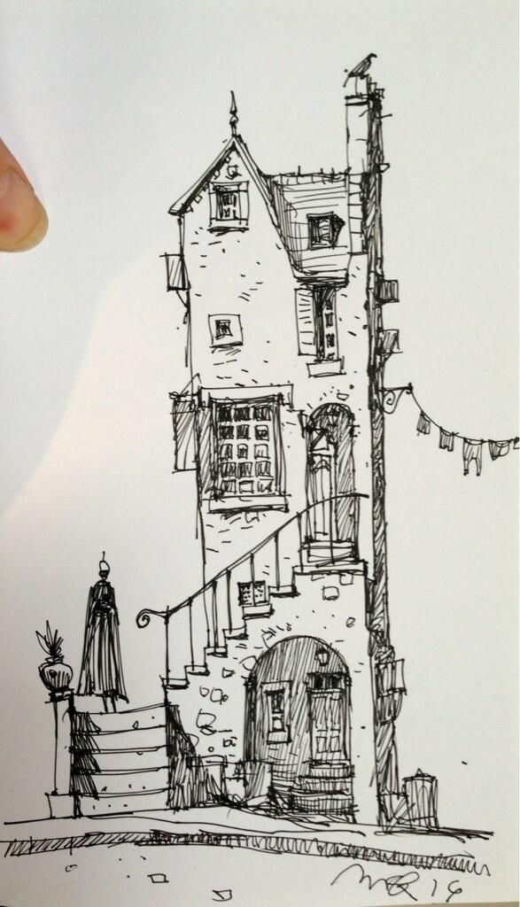 Ian Mcque On Dessin Batiment Maison Dessin Et Dessin Architecture