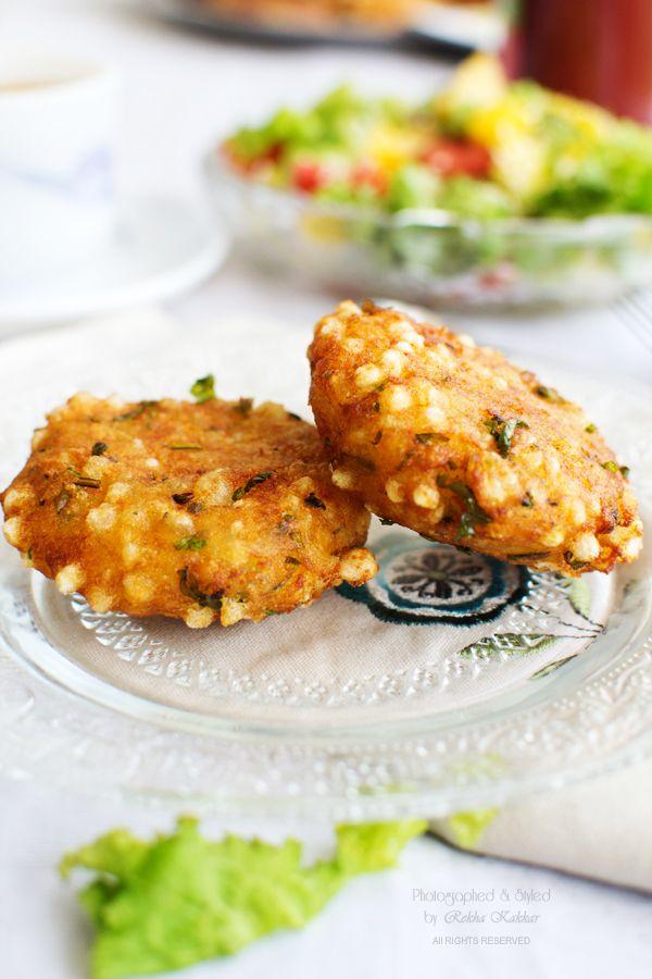 Sabudan Vada: A Crispy Snack to Tide Over Monsoon Cravings #photography #foodphotography