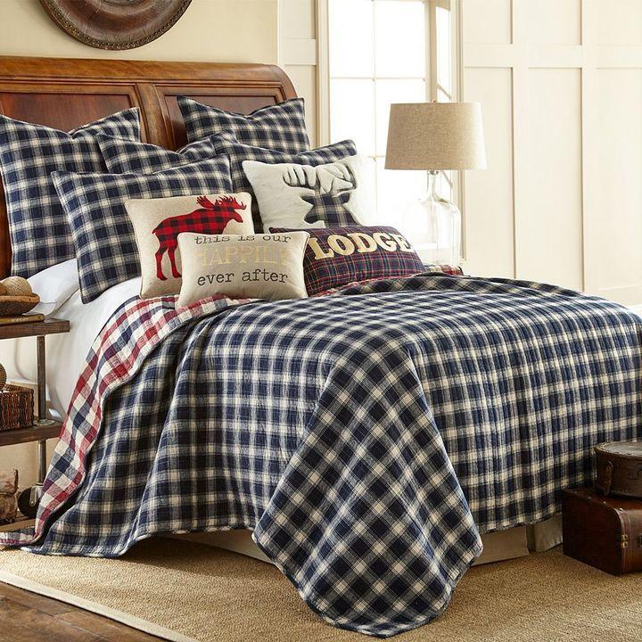 Lodge Quilt Set Red bedding sets, Lodge bedding, Quilt