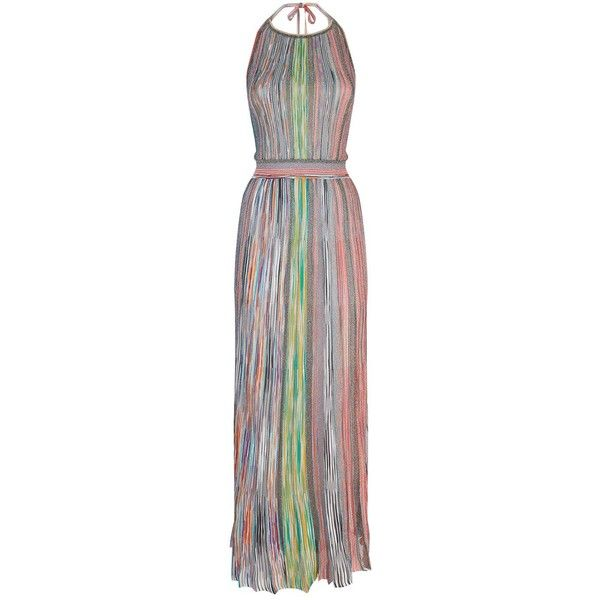 Missoni Stripe Maxi Dress ($1,930) ❤ liked on Polyvore featuring ...