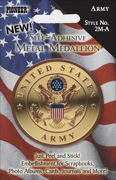 Military Metal Medallions-Army
