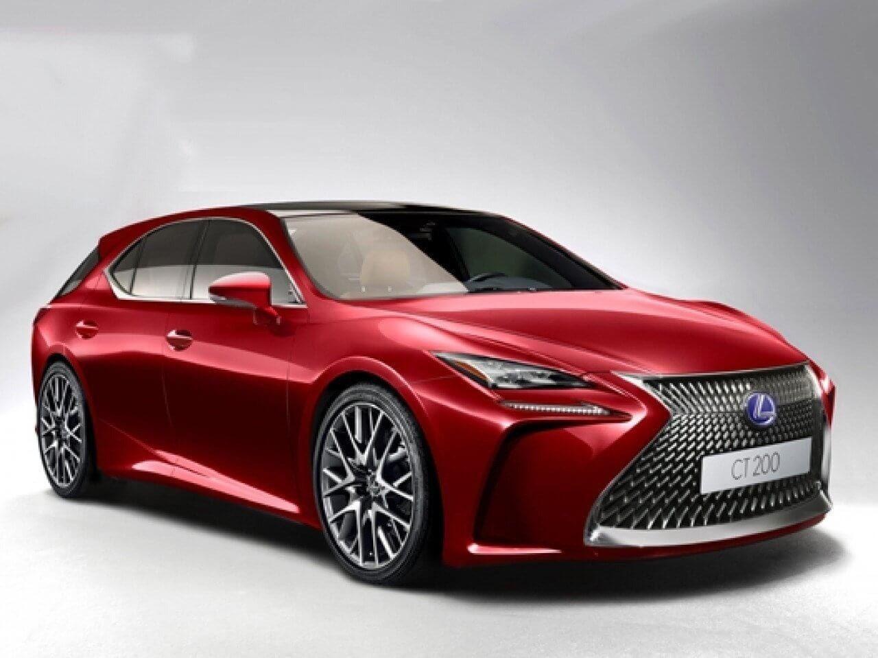 Lexus Es 2020 New Concept Lexus Es Lexus Hybrid Car