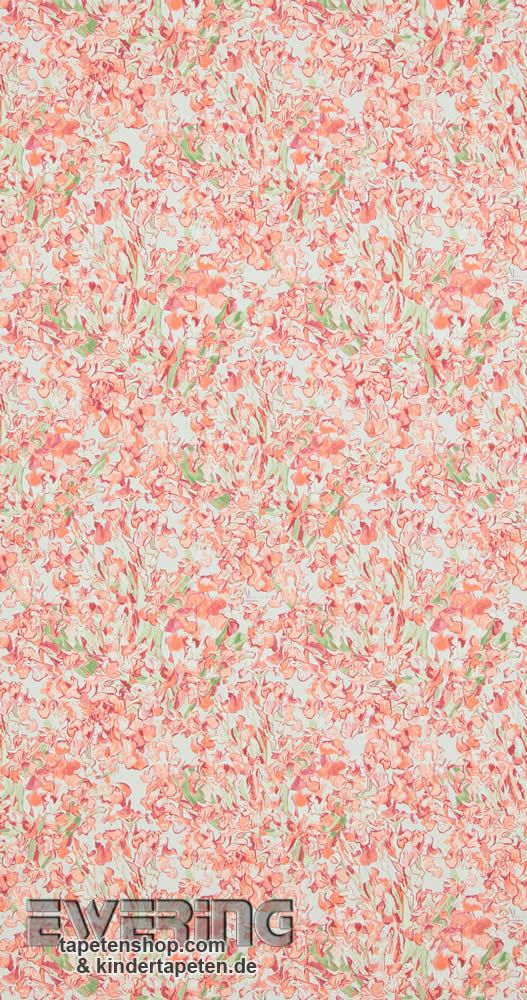 BN Tapeten Van Gogh 12-17151 Blumen rot Vliestapete Wohnzimmer - tapeten wohnzimmer rot
