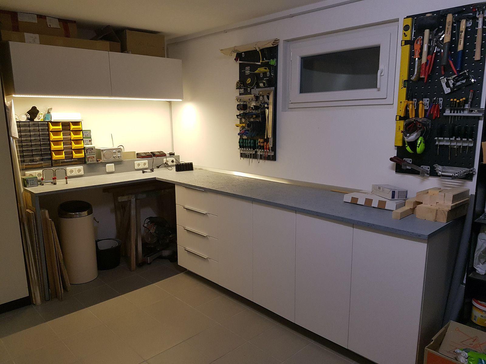 Werkbank Selber Bauen Ikea : werkstatt mit bildern ikea arbeitsplatte werkbank werkbank ~ Watch28wear.com Haus und Dekorationen