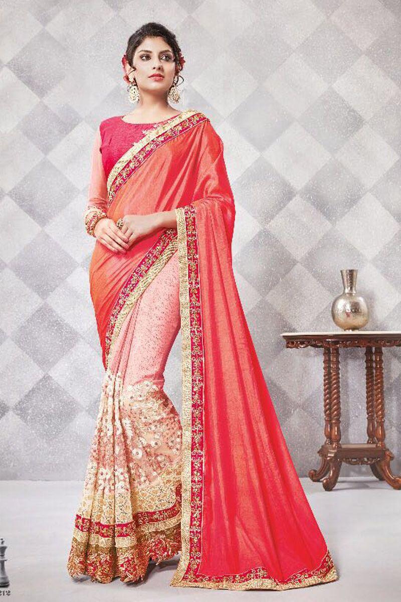 5fa8743a95 Designer saree supplier shop in surat textile market. Order bulk designer  saris online at best wholesale rate.