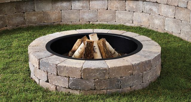Anchor Block Products | Fresco™ Fire Pit | Kit