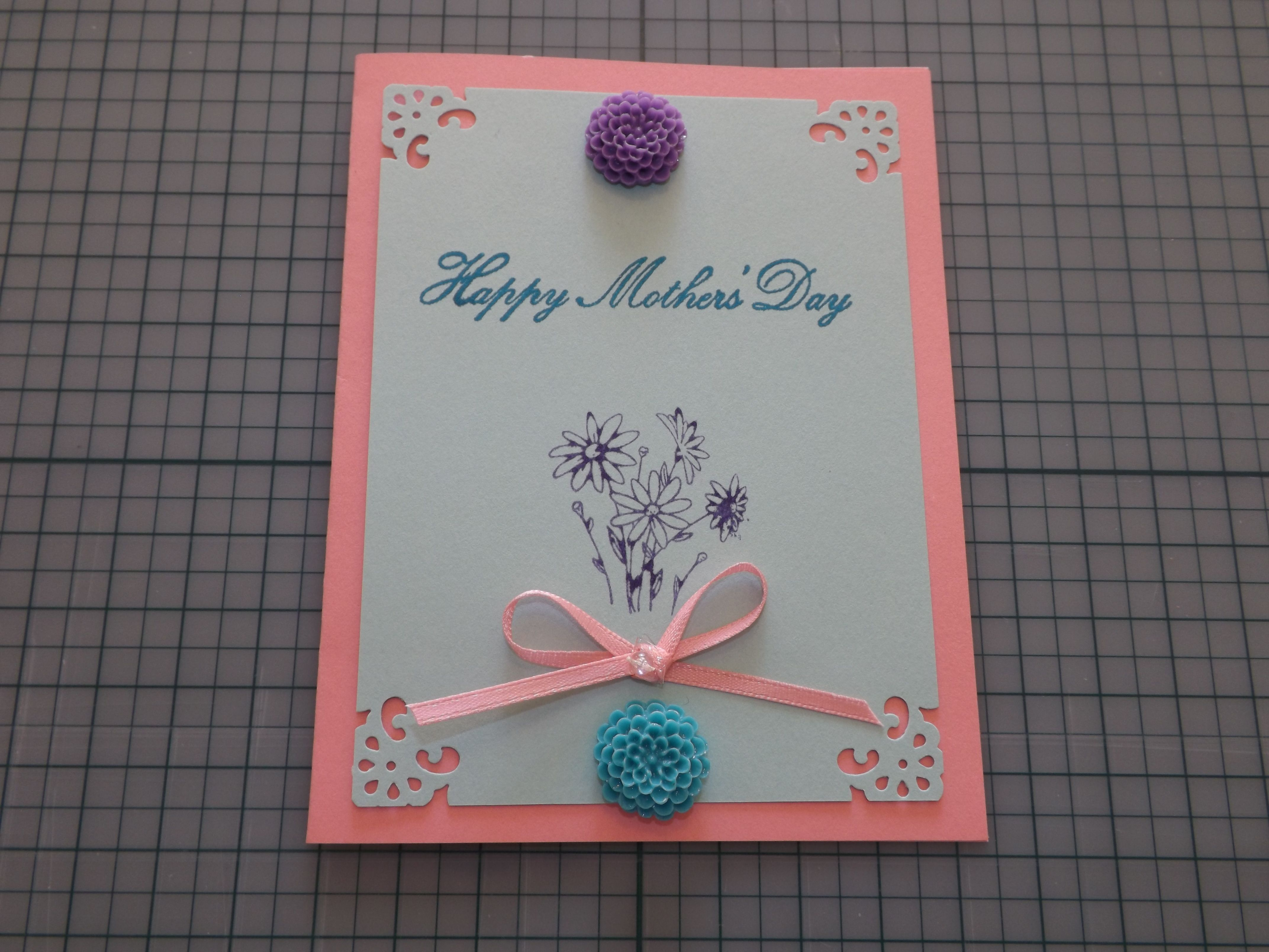 mother's day card  handmade cards  pinterest