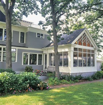 Sunrooms ideas seamless exterior additions enclosed for Enclosed porches and sunrooms