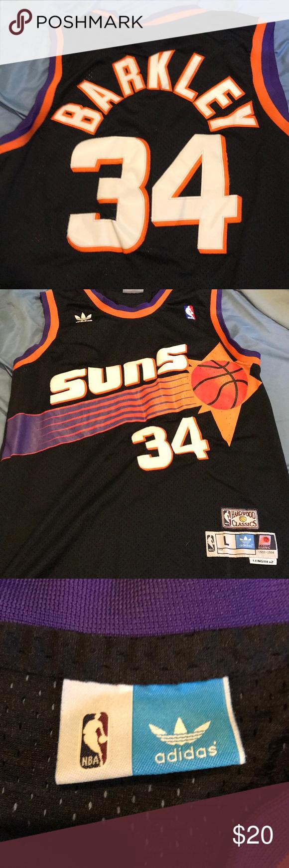 Charles Barkley Suns Jersey Charles Barkley Jersey Black Adidas