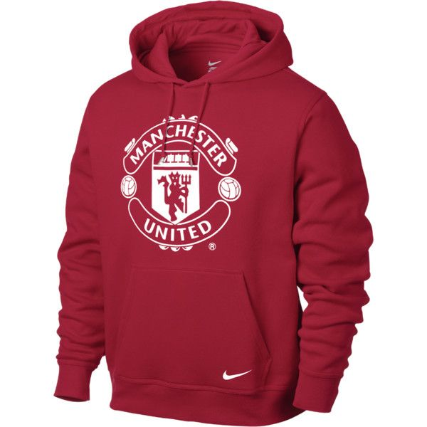 Corrupto distrito Endurecer  NIKE Manchester United Core Men's Hoodie (715 ZAR) ❤ liked on ...