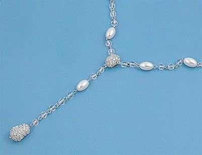 Necklace W/ CZ #CubicZirconia