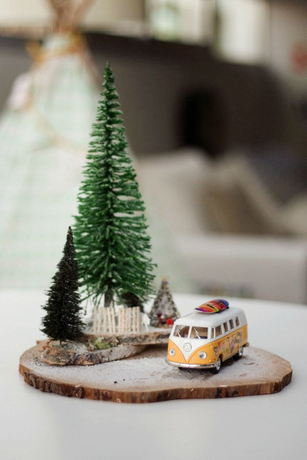 MicroWorlds By Rebeca Terrón Miniatures, Holidays and Xmas - christmas town decorations