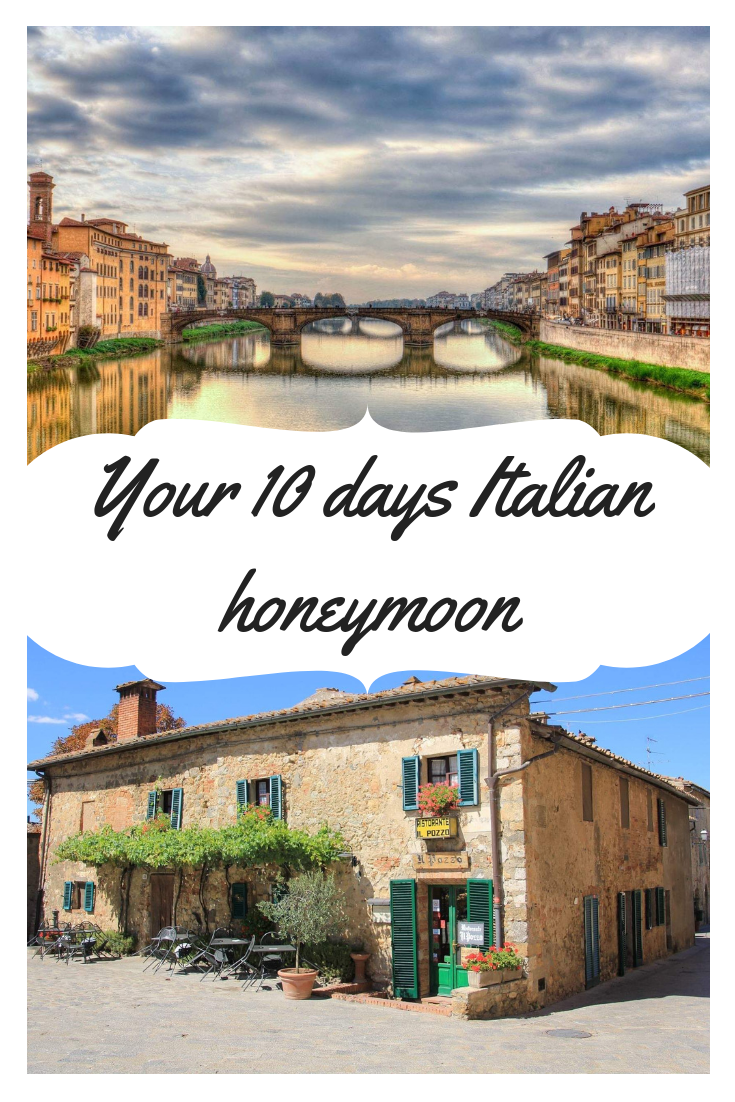 An example of our work - a 10 days personalized honeymoon itinerary through  Italy