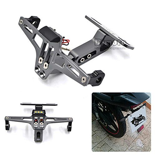 Adjust Motorcycle License Plate Bracket Licence Plate Holder Number ...