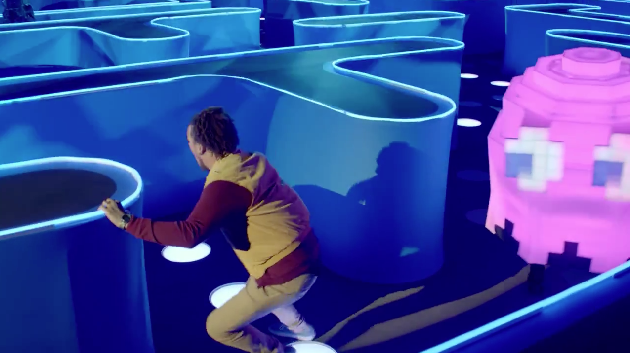 Bud Light Superbowl Commercial Impressive The Star Of Bud Light's Pacman Stunt Had No Clue He'd Be In A Super Design Inspiration