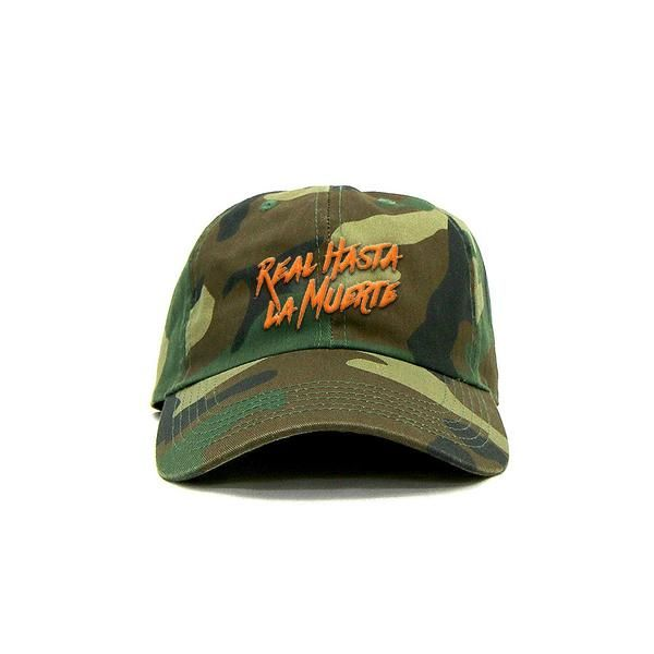 Real Hasta La Muerte Camouflage Exclusive Hat Limited Edition Only 40 Made Dad Hats Camouflage Hats