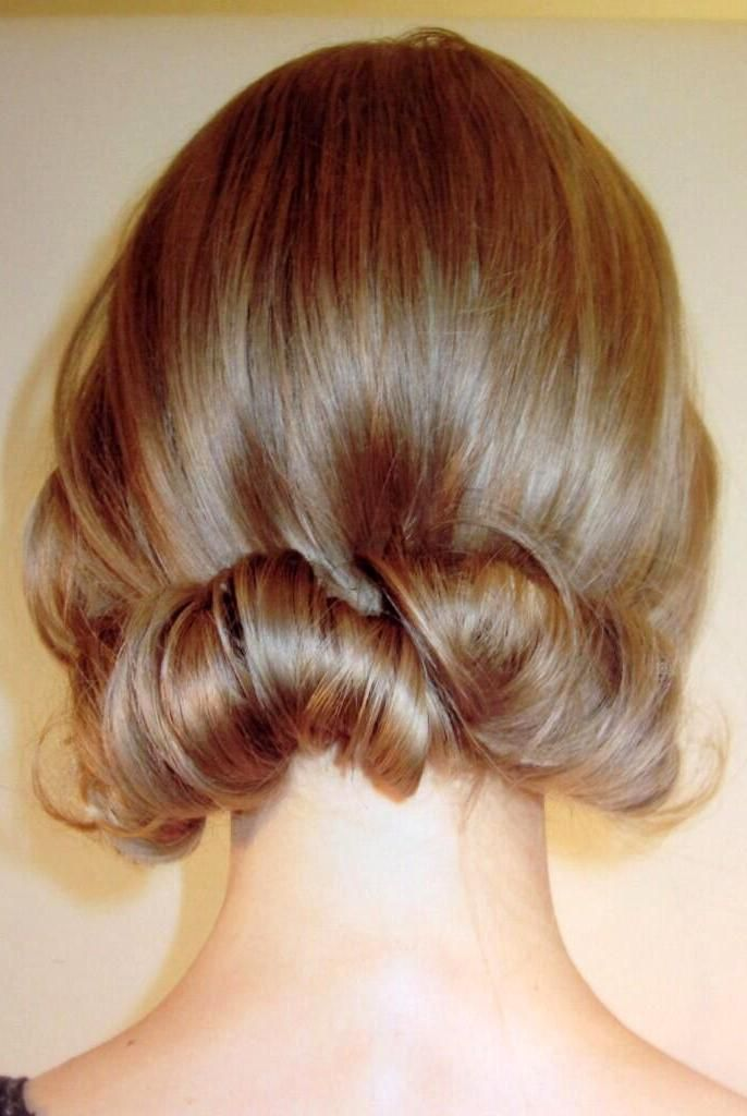 Romantic hair for a special occasion