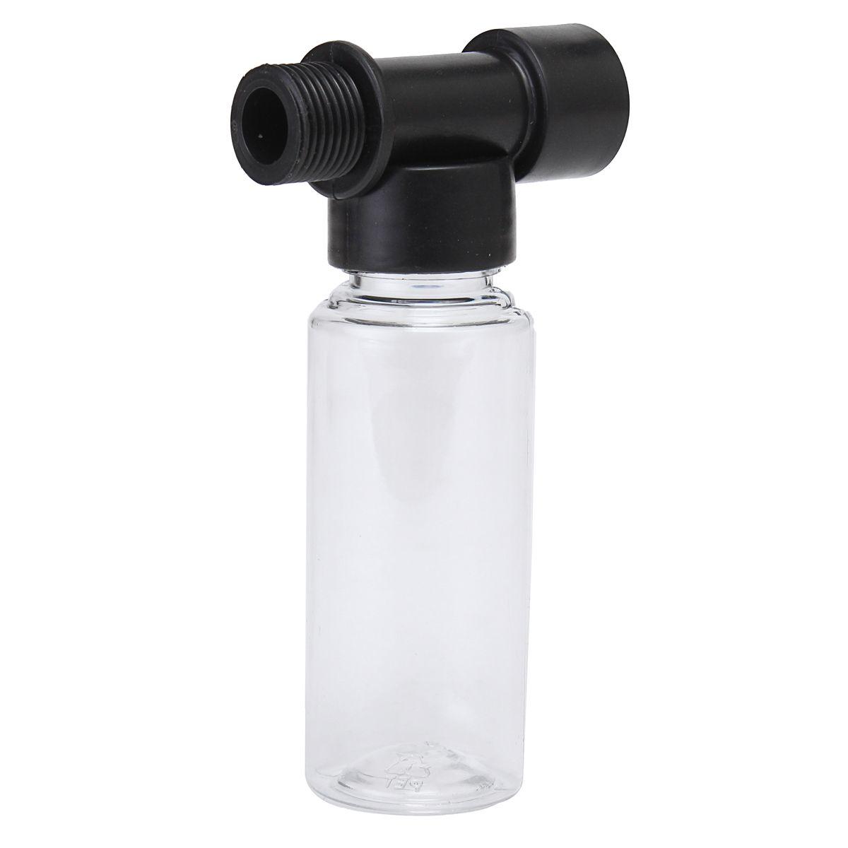 60mL Bubble Pot Car Wash High Pressure Power Washer Sprayer Spray Nozzle Gun Bottle