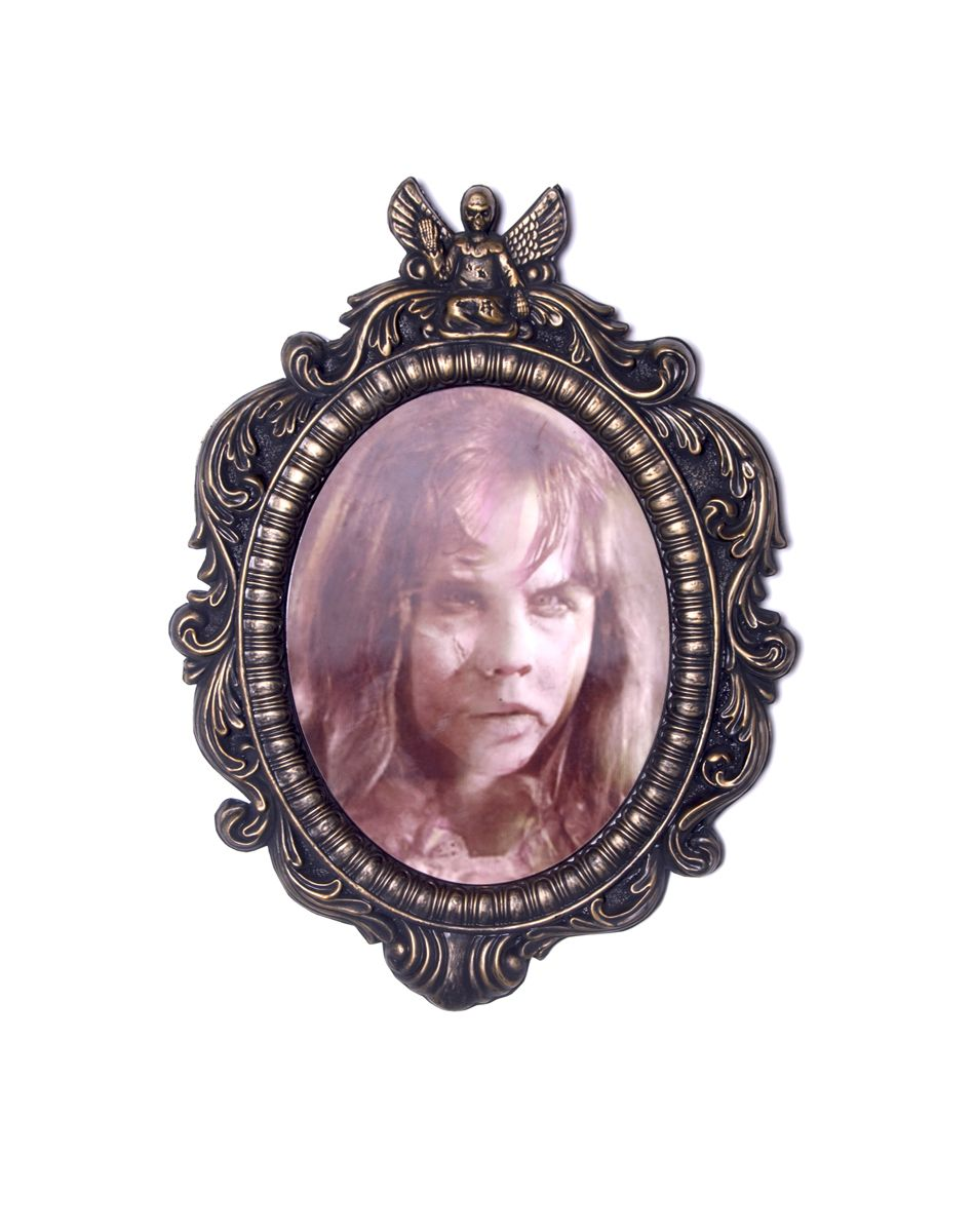 the exorcist regan macneil lenticular frame decoration spirit halloween