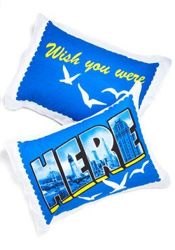 Home Decor - Overnight Flight Pillow Sham Set