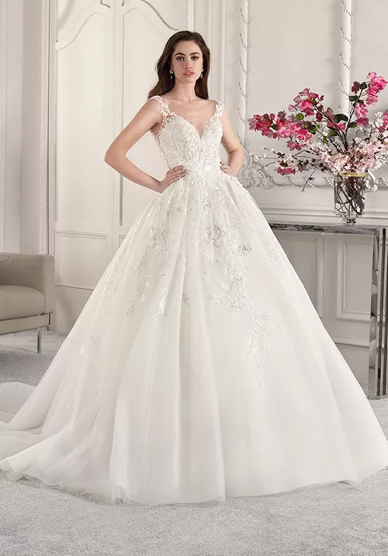 Ball Gown Wedding Dresses Page 30 The Knot Ball