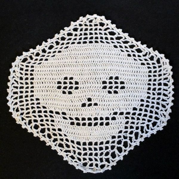 Crochet Skull Applique Pattern | nov double crochet work in progress ...