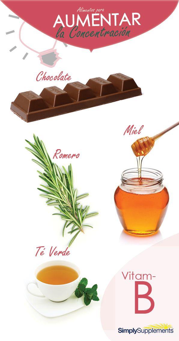 Alimentos y vitaminas para mejorar la concentraci n y - Mejorar concentracion estudio ...