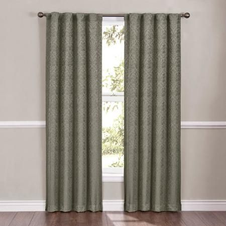 Eclipse Campania Damask Blackout Energy Efficient Curtain Panel